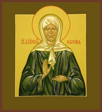 Молитва блаженный матроне московской